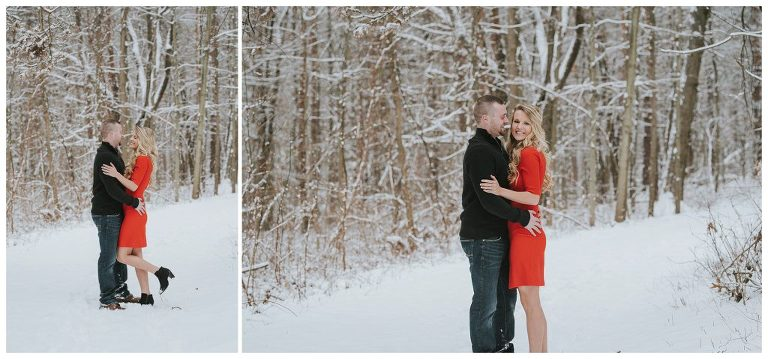Detroit wedding photographer | Stony Creek Metropark Engagement session